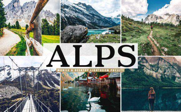 Alps Lightroom Presets Pack 3786737