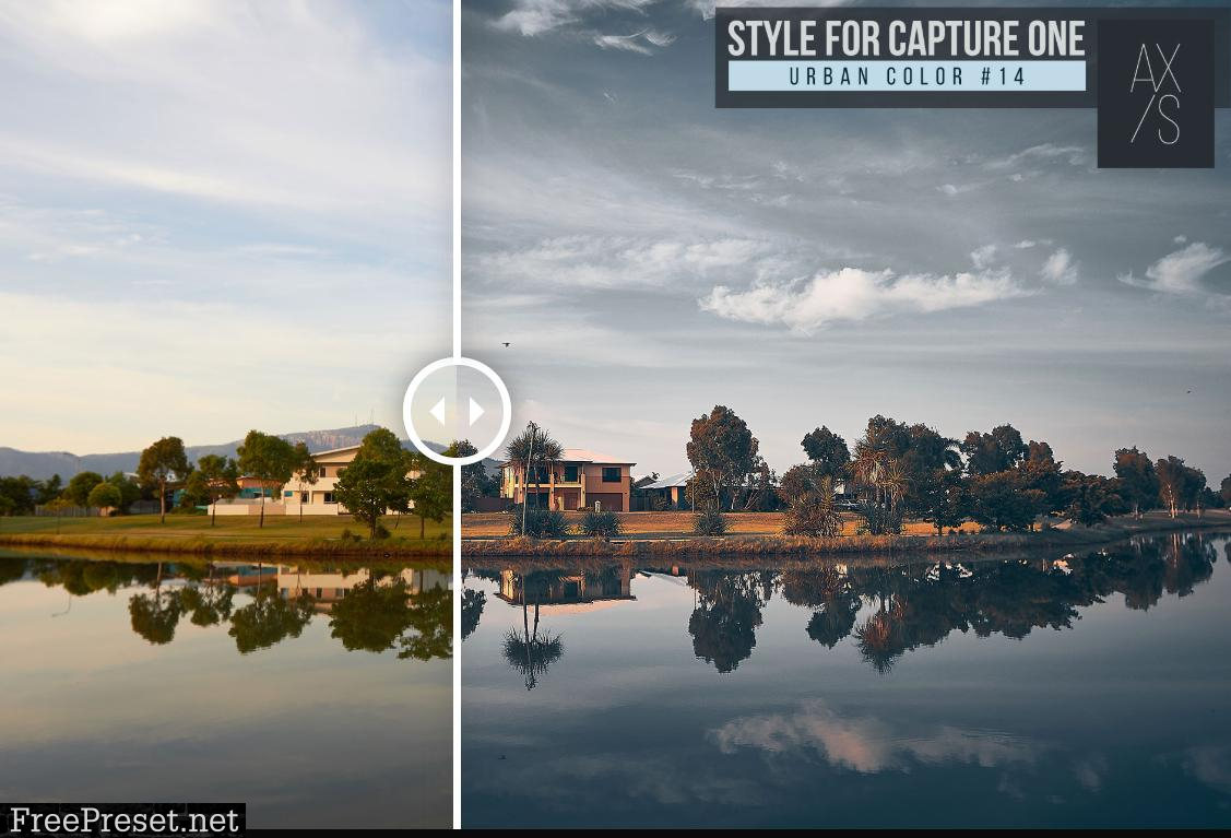 Axis Urban Color Styles for Capture One