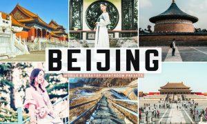 Beijing Mobile & Desktop Lightroom Presets
