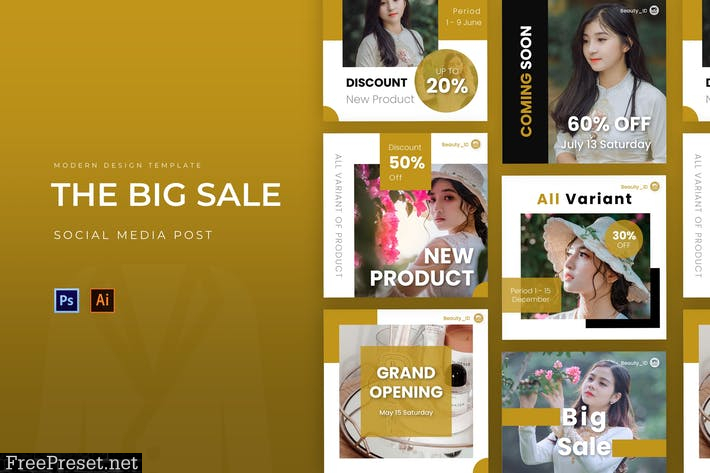 Big Sale Instagram Post U7MSXQH