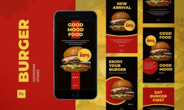 Burger Instagram Story 3JQGGGK