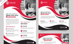 Business flyer and banner templates premium