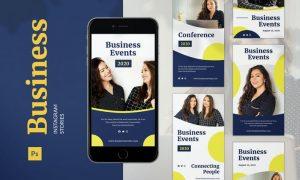 Business Instagram Story MVMVK3X