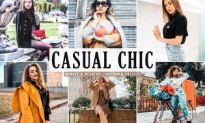 Casual Chic Mobile & Desktop Lightroom Presets