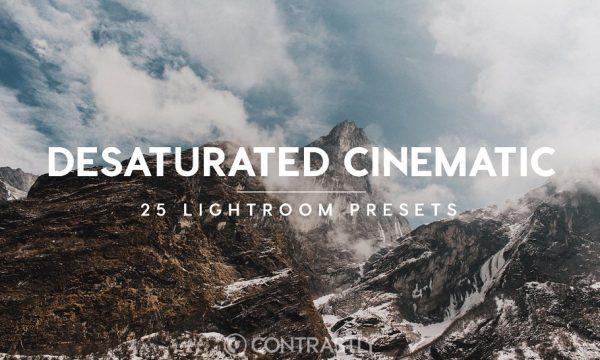 Desaturated Cinematic LR Presets 469388