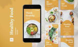 Healthy Food Instagram Stories U8NDGU7