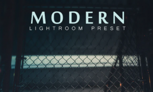 Modern Lightroom Preset 26210373