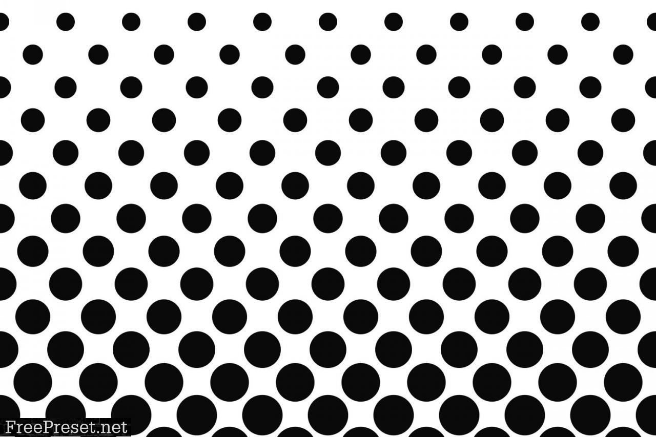 Monochrome Geometrical Pattern