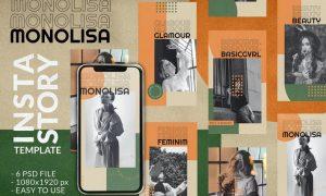 Monolisa Instagram Story Template 7TX8UTN