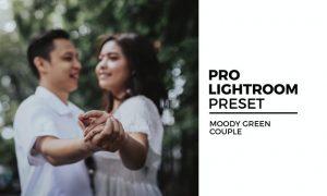 Moody Green Couple Preset