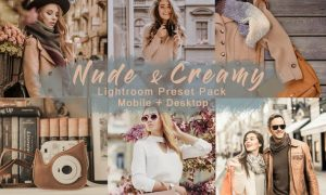 Nude & Creamy   Lightroom Presets Mobile+Desktop