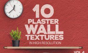Plaster Wall Textures x10 Vol.4 35536XX