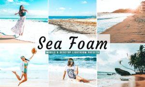 Sea Foam Mobile & Desktop Lightroom Presets