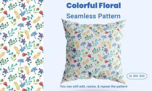Seamless Pattern Floral FGMDEZX