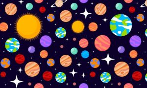 Solar system patterns set 8E7WMFU