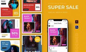 Super Sale Instagram Post GX8LUHJ