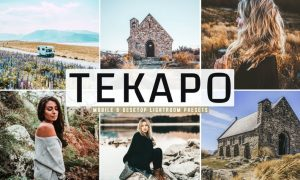 Tekapo Mobile & Desktop Lightroom Presets