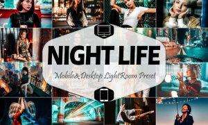 10 Night Life Mobile & Desktop Lightroom 4220921