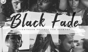 6 Lightroom Presets Black Fade Theme 4030514