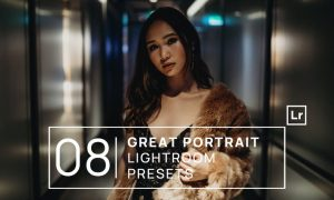 8 Great Portrait Lightroom Presets