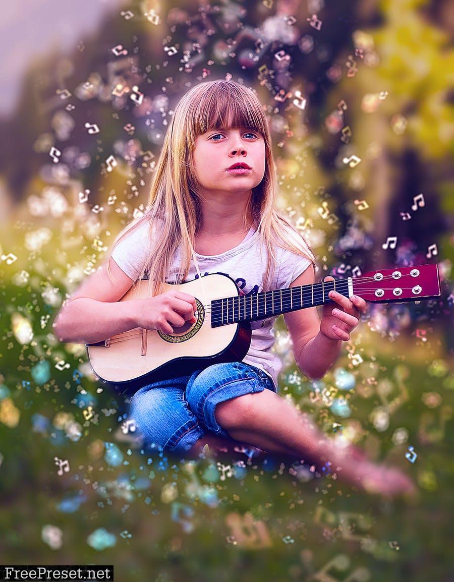 Bokeh 2 Photoshop Action SX9NCQD
