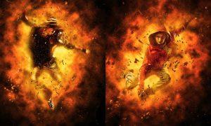 Burn Photoshop Action YLJUWAW