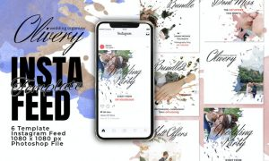 Clivery Instagram Feed Post Template YQZDWPN