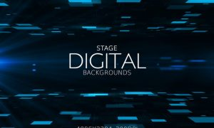 Digital Stage Backgrounds PE6EAL4
