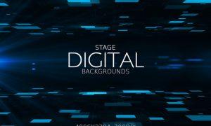 Digital Stage Backgrounds PE6EAL4