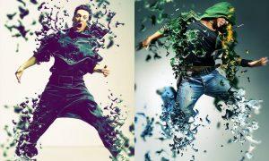Dissolve Photoshop Action  3S2532W