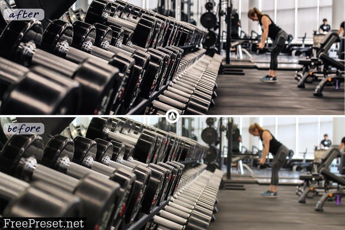 Gym & Fitness   Lightroom Presets 4815614