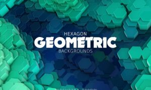 Hexagon Geometric Backgrounds 7G4HZ33