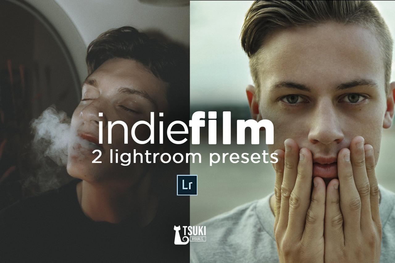 INDIE FILM LOOK Lightroom Presets 4621731