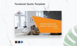 Interior Designer Firm Facebook Quote GFK5V96