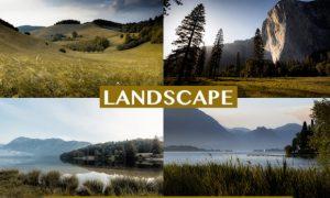 Landscape Desktop & Mobile Presets 4127196