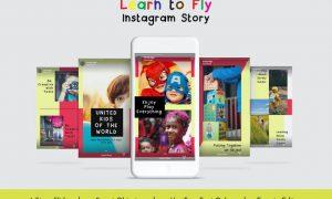 Learn to Fly Instagram Story Vol.13 74VERCB
