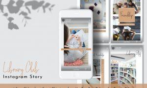 Library.Club Instagram Story Vol.15 9Y82UH4