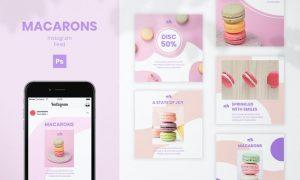 Macarons Instagram Feed 2Y5LBAQ