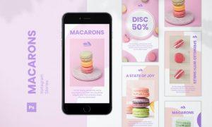 Macarons Instagram Stories 4YK3C6K