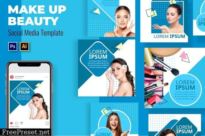 Make Up Social Media Template WPAHC24