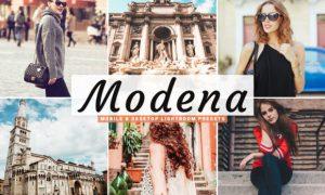 Modena Lightroom Presets Pack