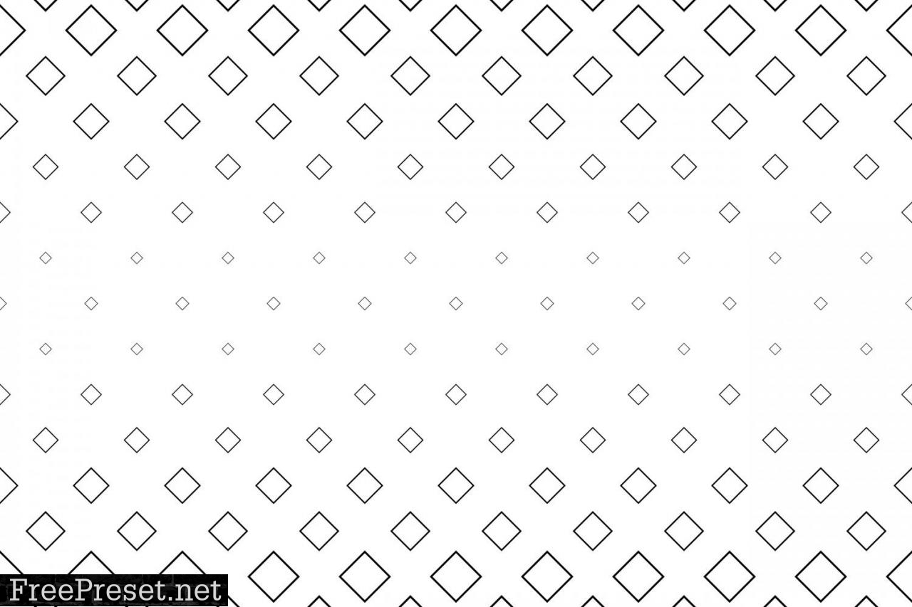Monochrome Geometrical Pattern