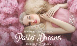 Pastel Dreams Photoshop Actions 3576799