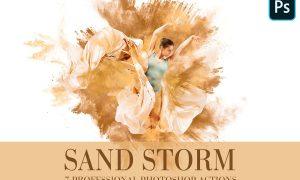 Photoshop Actions - Sand Storm 4841577