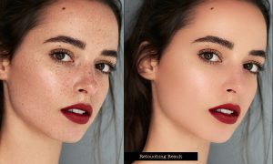 Realistic Skin Retouching PS Action 26204443