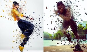ShatterPoly Photoshop Action DVWJS7P