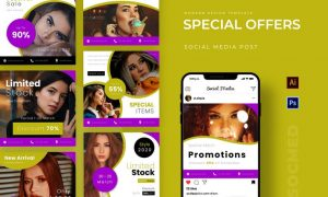 Special Offers Instagram Feed MDFDH3D