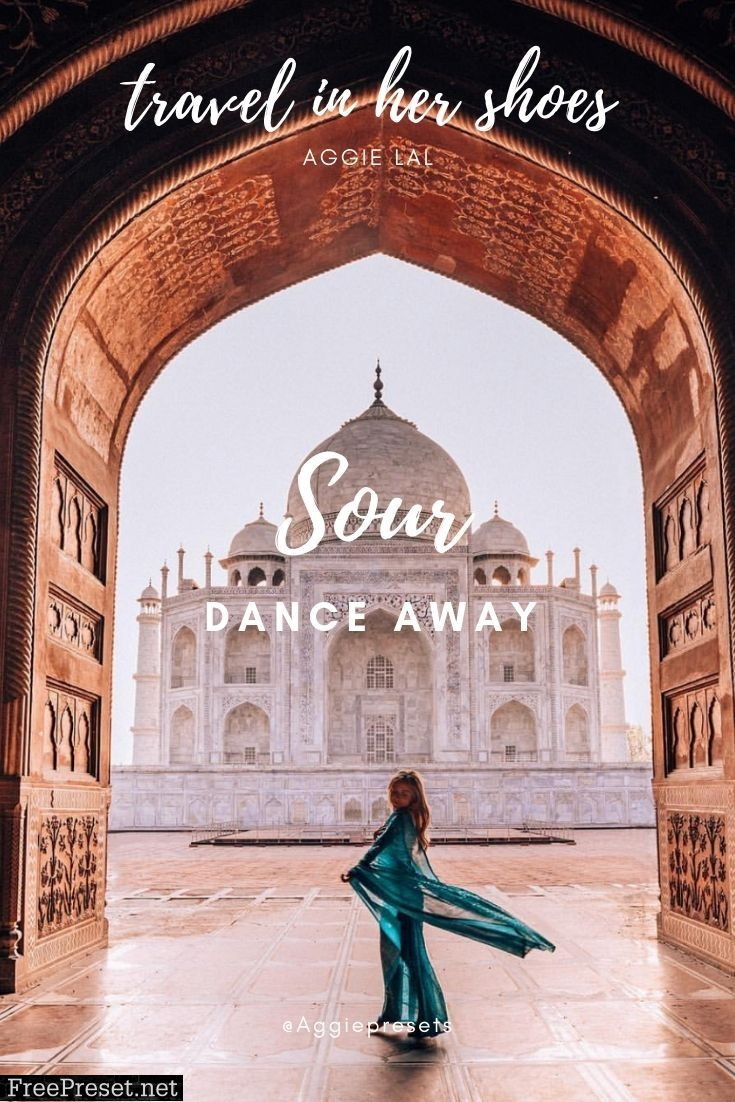 Travel in her Shoes - Sour Collection
