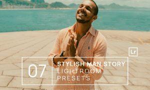7 Stylish Man Story Lightroom Presets + Mobile