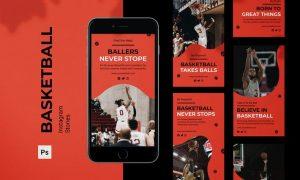 Basketball Instagram Stories 3KT923A